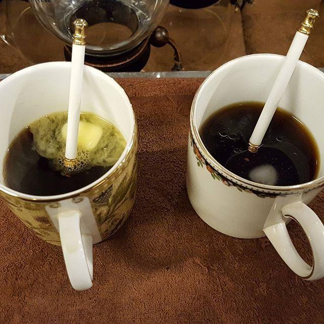 味見②珈琲変えてみた#バターコーヒー #ラードコーヒー #MEC