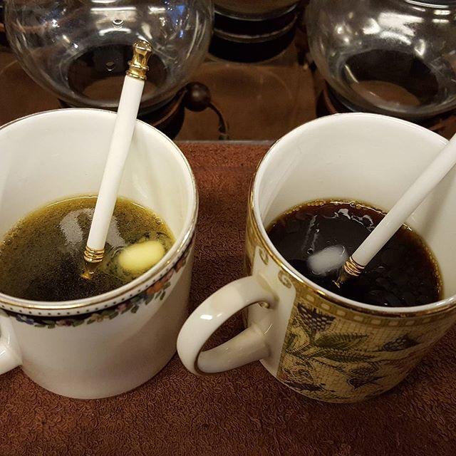 味見ちぅ#バターコーヒー #ラードコーヒー #MEC