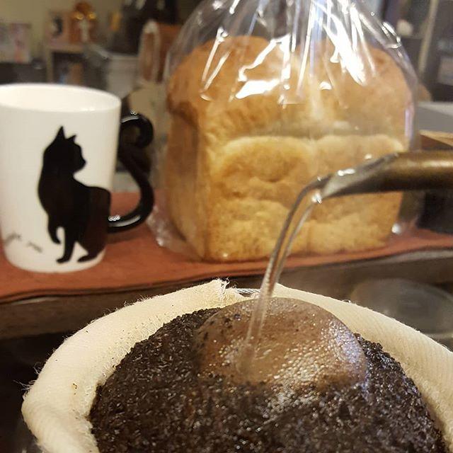 #珈琲と猫と煙草と フクセンドーのハードトースト#やさぐれFriday あ、13日の金曜日だ!