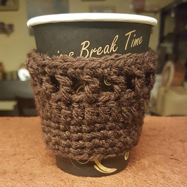 #珈琲と猫と煙草と ...紙コップ用もできた!#coffeecozy